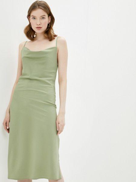 Платье платье-комбинация зеленый Fashion.love.story