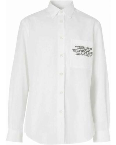 Koszula - biała Burberry