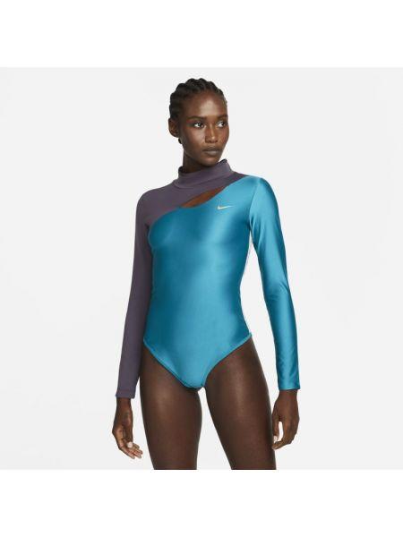 Body - niebieski Nike