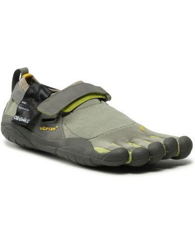 Zielone sneakersy Vibram Fivefingers