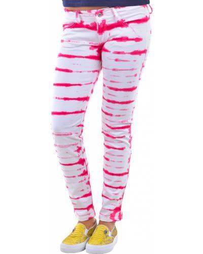 Розовые хлопковые брюки P.a.r.o.s.h.