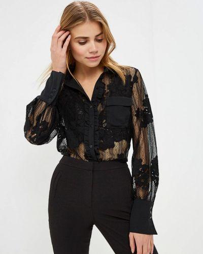 Блузка кружевная черная Imperial
