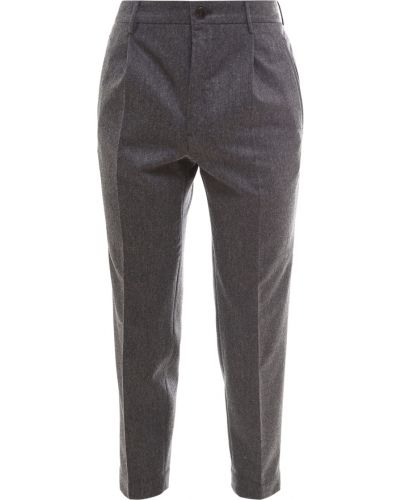 Szare spodnie Incotex