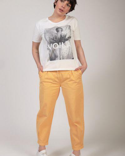 Хлопковые брюки Cambio