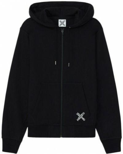 Sweter z printem - czarny Kenzo