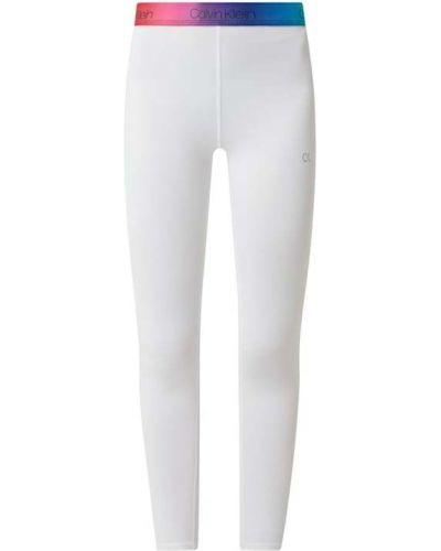Białe legginsy Ck Performance