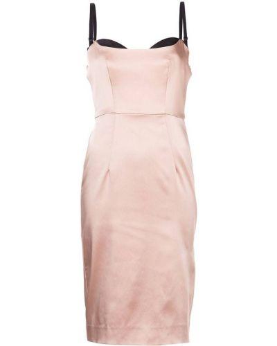 Платье миди без рукавов с вырезом Milly