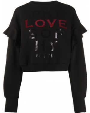 Черный длинный свитер Philosophy Di Lorenzo Serafini