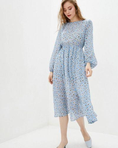 Платье - голубое 7arrows