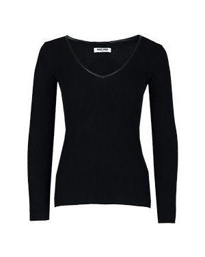 Кашемировый черный пуловер Max & Moi