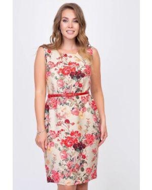 Платье с поясом платье-сарафан со складками Diolche