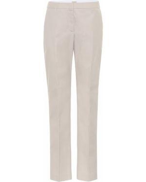 Прямые классические брюки с воротником с карманами Tod's
