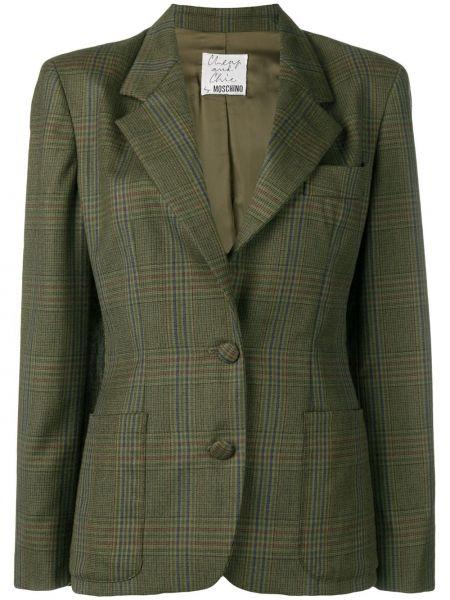 Пиджак на пуговицах винтажный Moschino Pre-owned