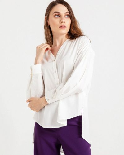 Блузка с длинным рукавом белая турецкий Bgn