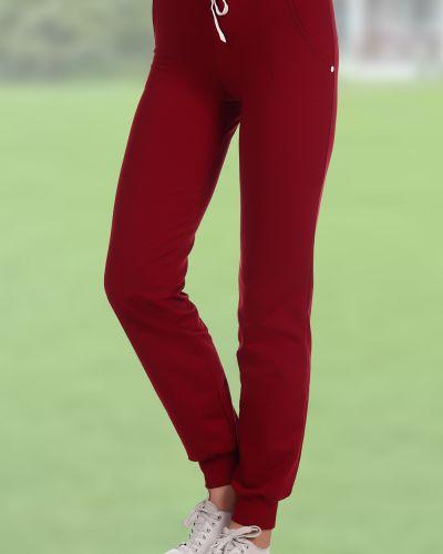 Спортивные брюки хлопковые из футера Грандсток