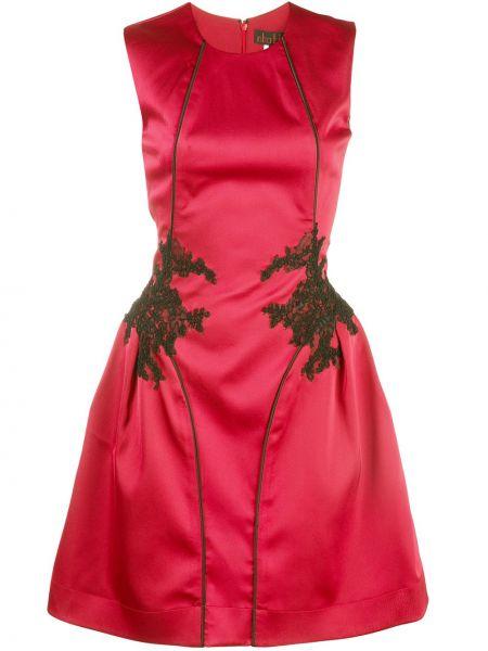 Расклешенное ажурное платье мини Nha Khanh