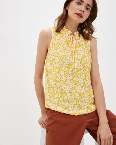 Желтая блузка без рукавов без рукавов Defacto