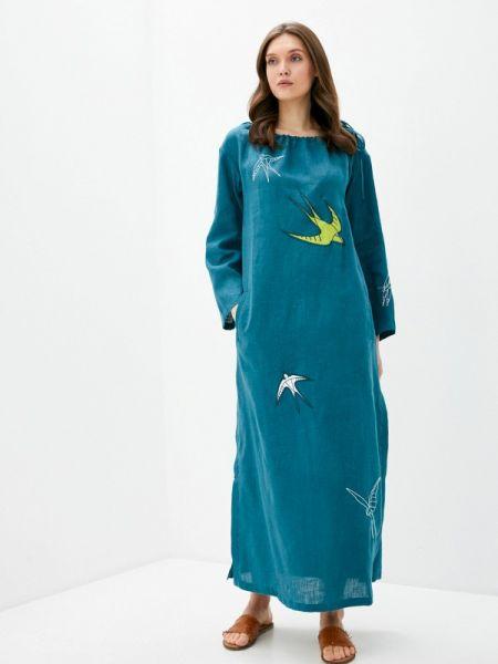 Зеленое платье Pavel Yerokin