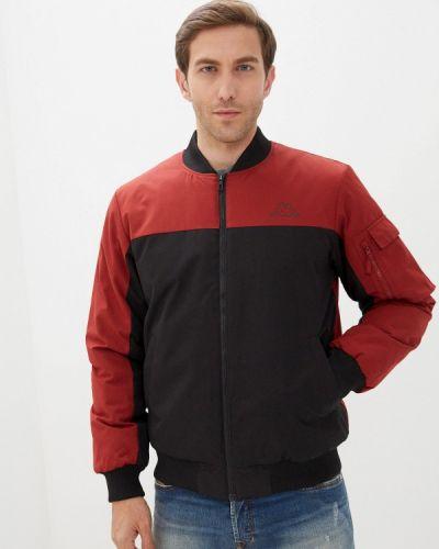 Утепленная красная куртка Kappa
