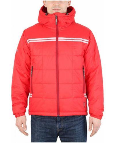 Красная утепленная куртка Red Fox