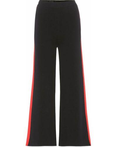Спортивные брюки укороченные с лампасами Stella Mccartney