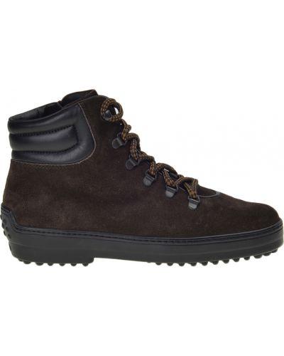 Ботинки замшевые Tod's