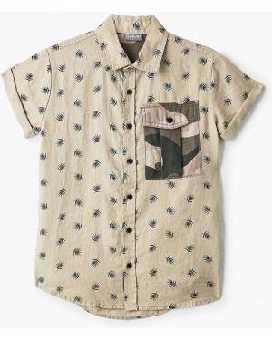 Рубашка бежевый Gulliver