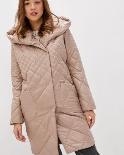 Коричневая теплая куртка Paradox