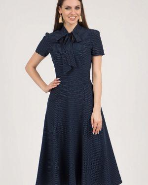 Платье миди - синее Olivegrey