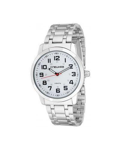 Часы механические водонепроницаемые белые Слава