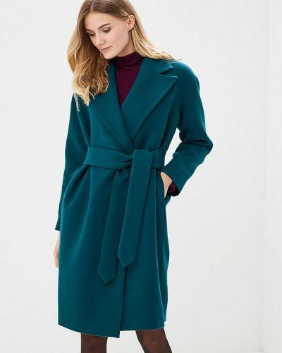 Пальто демисезонное зеленое Pepen