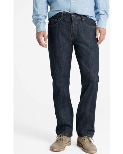 Прямые джинсы - синие Gap