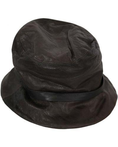 Brązowy kapelusz Dolce And Gabbana