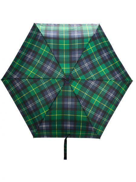 Zielony parasol metal Barbour