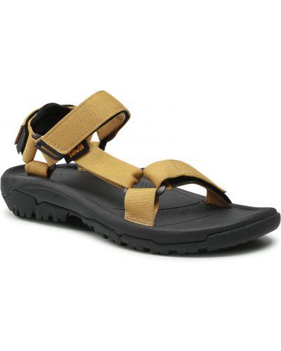 Brązowe klasyczne sandały Teva