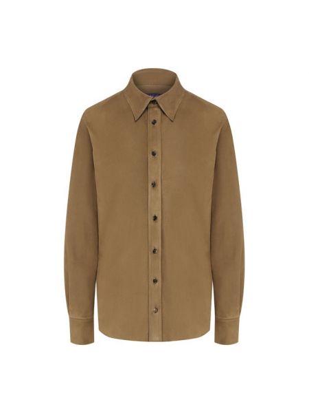 Бархатная рубашка на пуговицах Ralph Lauren