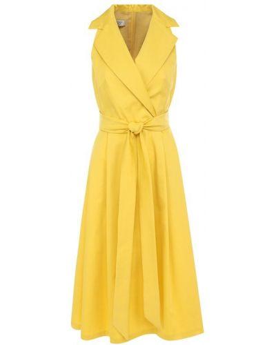 Платье миди приталенное Weill