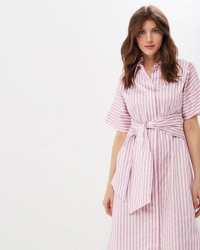 Повседневное платье весеннее розовое Gerry Weber