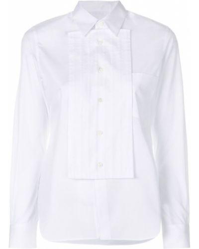 Рубашка с длинным рукавом хлопковая с карманами Comme Des Garçons Comme Des Garçons