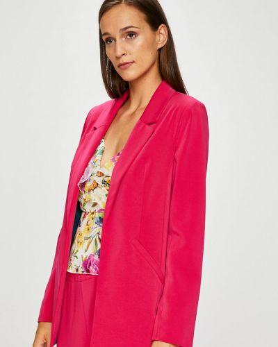 Классический пиджак прямой розовый Answear