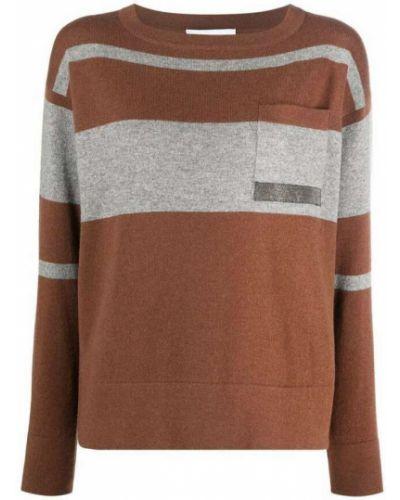 Brązowy sweter Fabiana Filippi