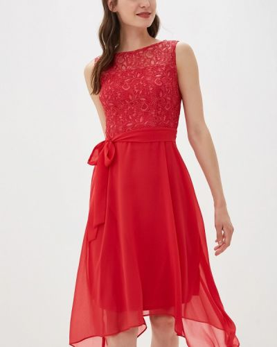 Платье прямое красный Dorothy Perkins
