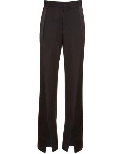 Шерстяные черные брюки с карманами Vivienne Westwood