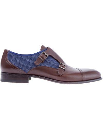 Классические туфли кожаные с пряжкой Etro