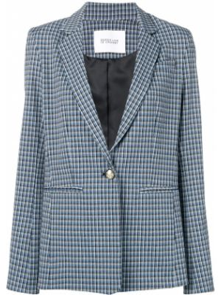 Синий пиджак с манжетами Derek Lam 10 Crosby