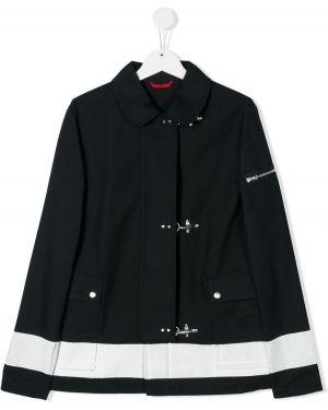 Długi płaszcz klasyczny z kieszeniami Fay Kids
