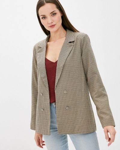 Бежевый пиджак Defacto