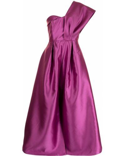 Fioletowa sukienka bez rękawów Sachin & Babi
