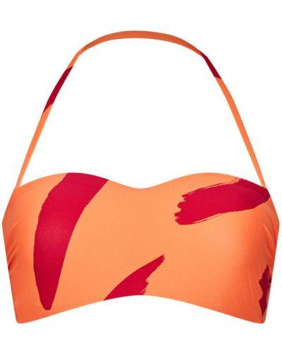 Pomarańczowy bikini Seafolly