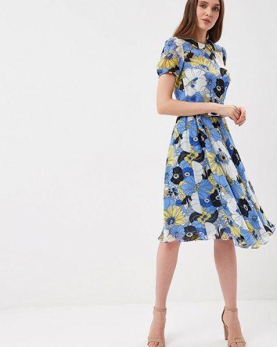 Платье синее Galina Vasilyeva